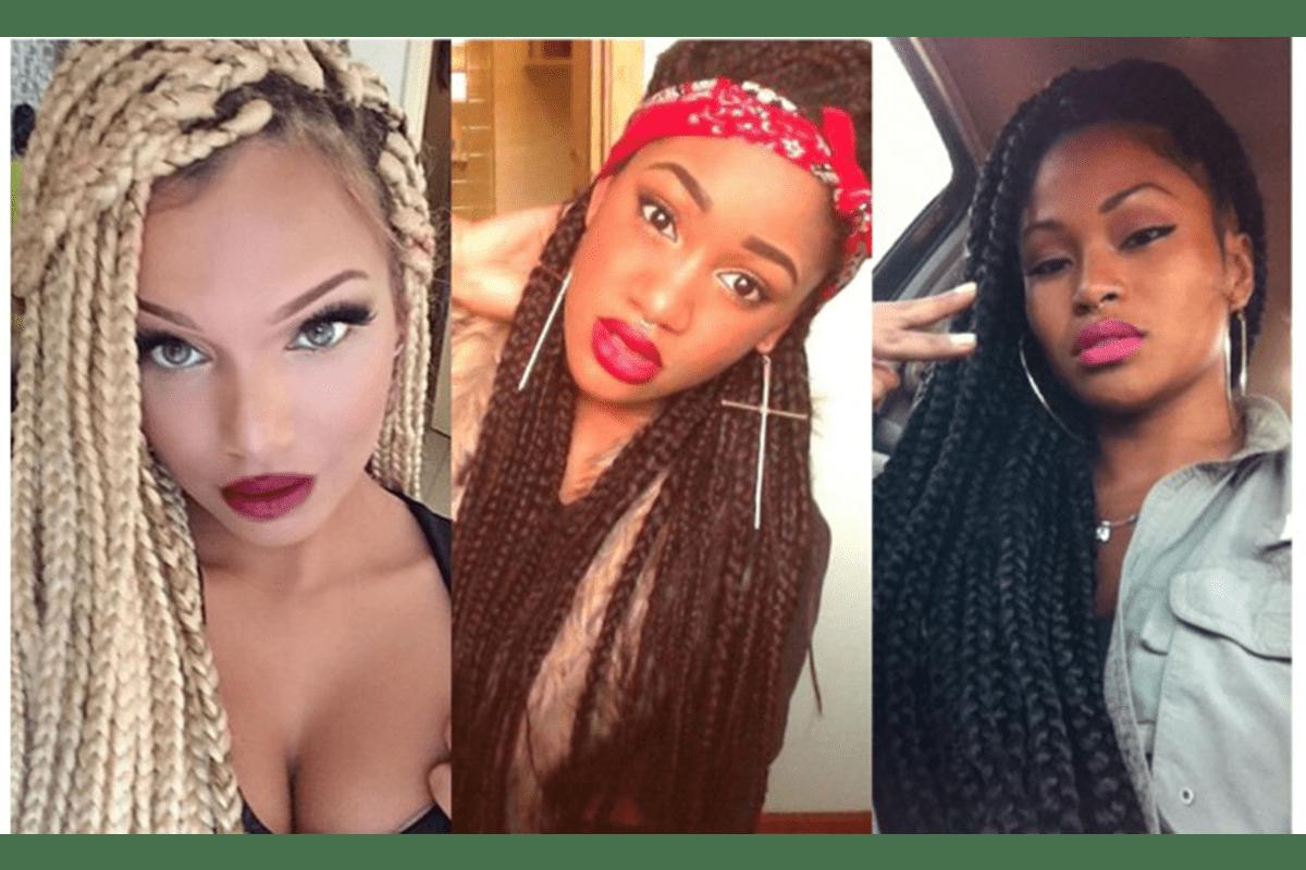 Coupe De Cheveux Pour Soirée intérieur 50 façons de porter vos box braids – femme d'influence magazine