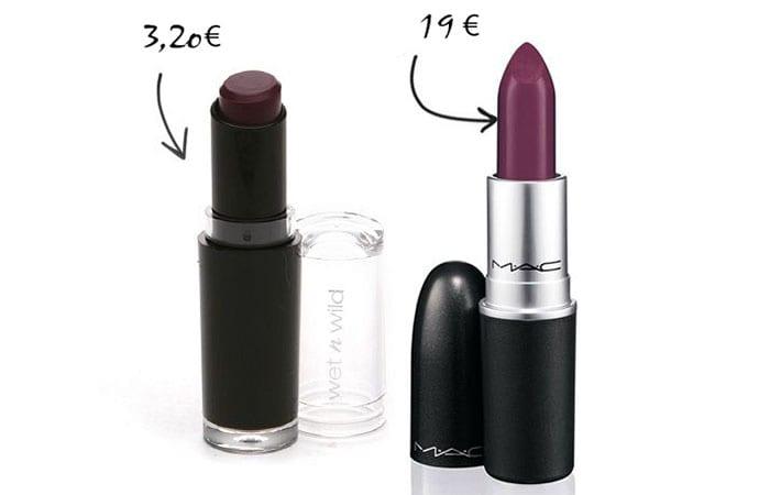 Read more about the article La marque Wet'n'Wild : L'équivalent des rouges à lèvres Mac 8 Fois moins cher !