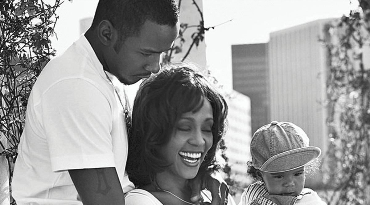 Houston,Brown  Les sublimes photos de famille. Whitney Houston et Bobby