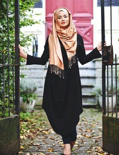 Exceptionnel 30 façons chic et élégante de porter son voile (hijab) JK43