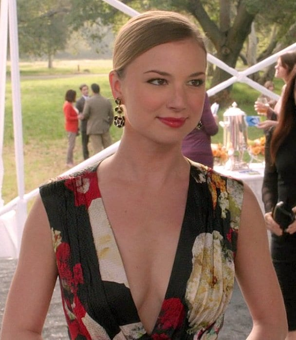Who is emily thorne dating in real life