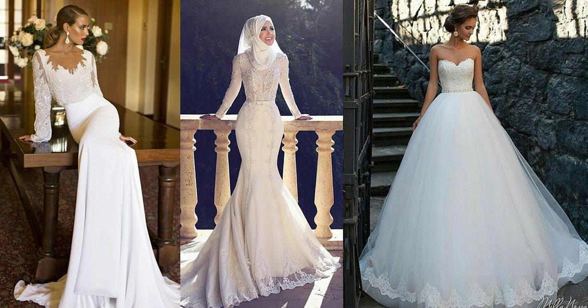7 styles de robes de mariée qui vont faire chavirer votre cœur