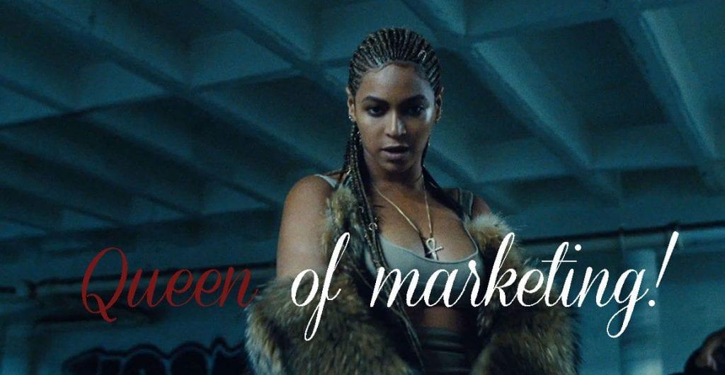 9 secrets pour devenir une reine du marketing comme Beyoncé !
