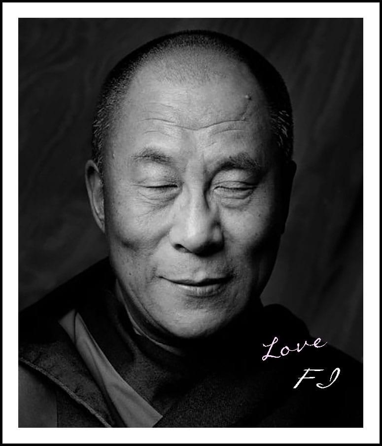 dalai-lama-portrait-bw
