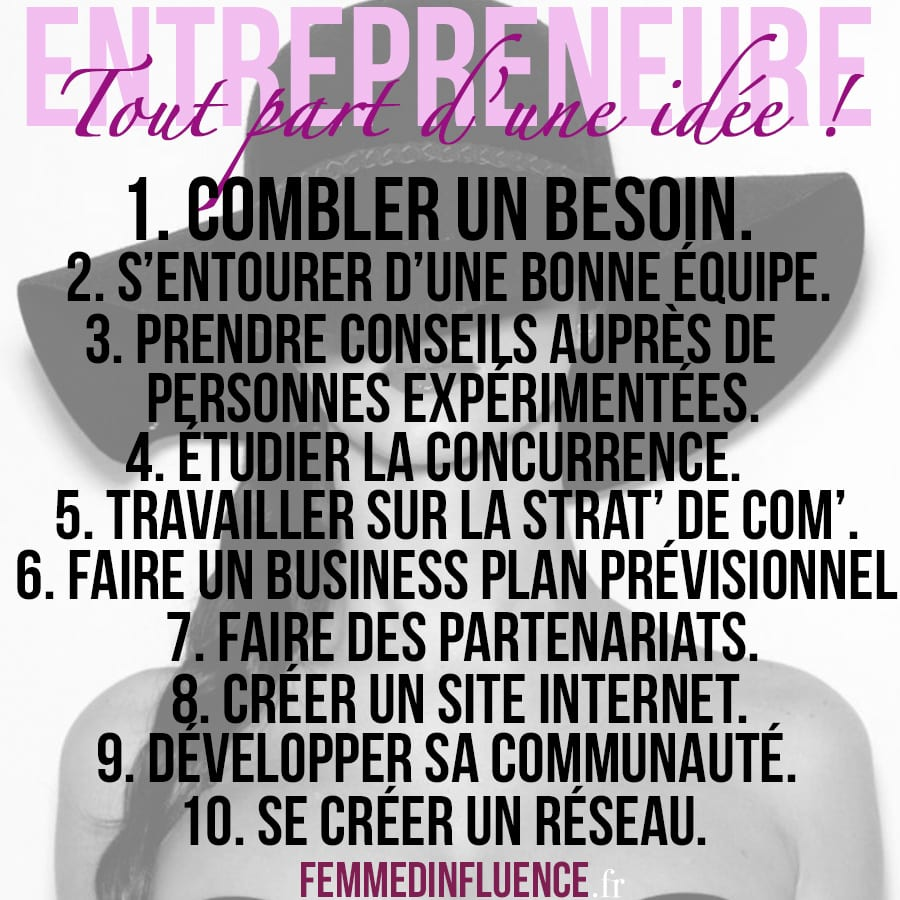 règles-entrepreneure
