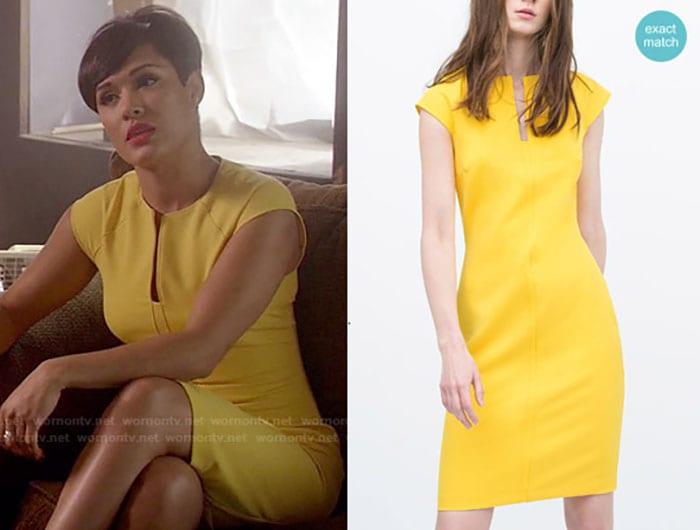 zara-yellow-shift-dress-anika-empire-x