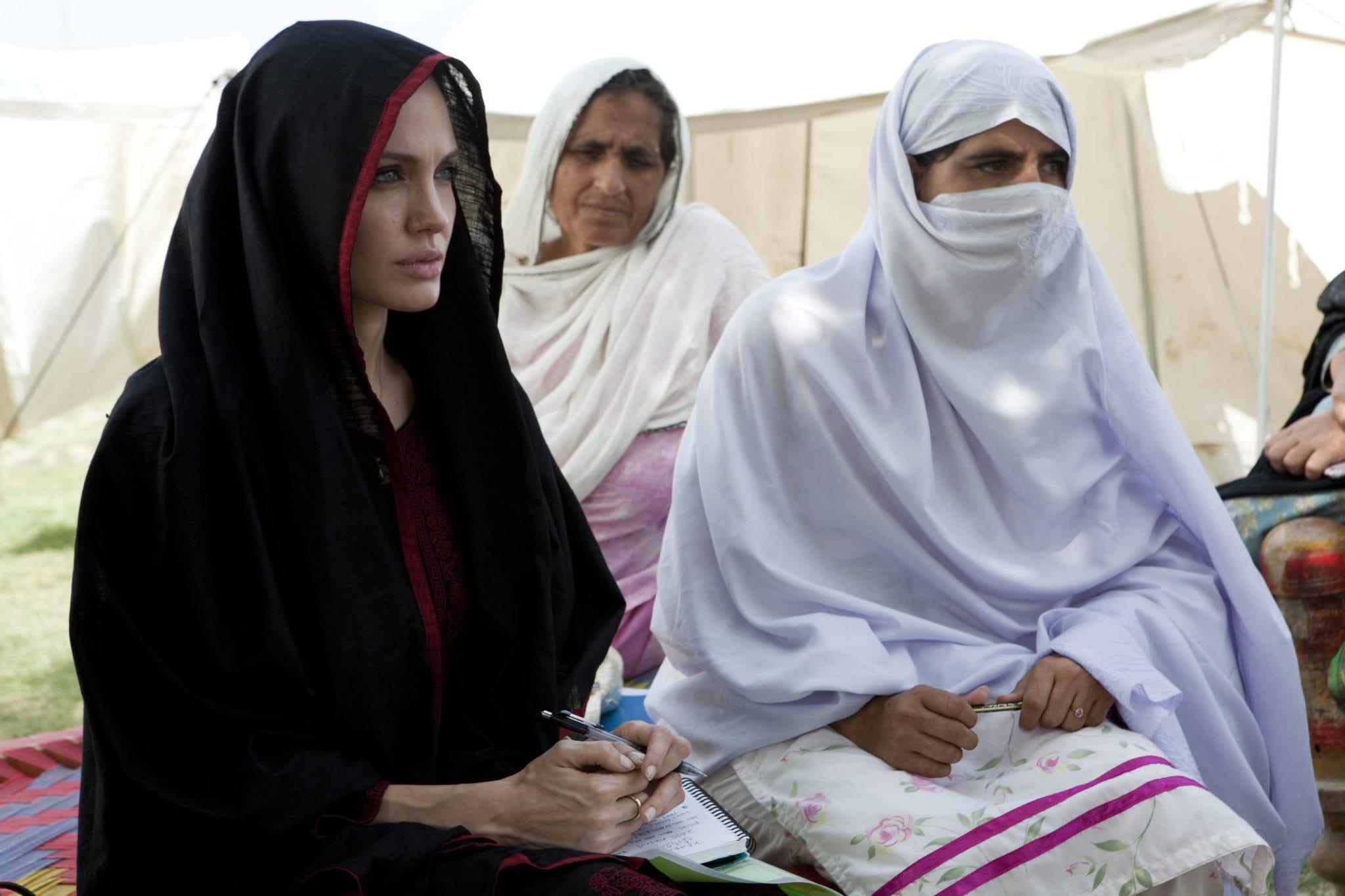 Victims of flooding in Nowshera, Khyber Pakhtunkhwa. Pakistan