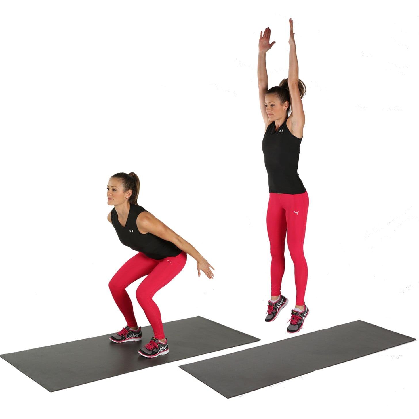 Jump-Squats