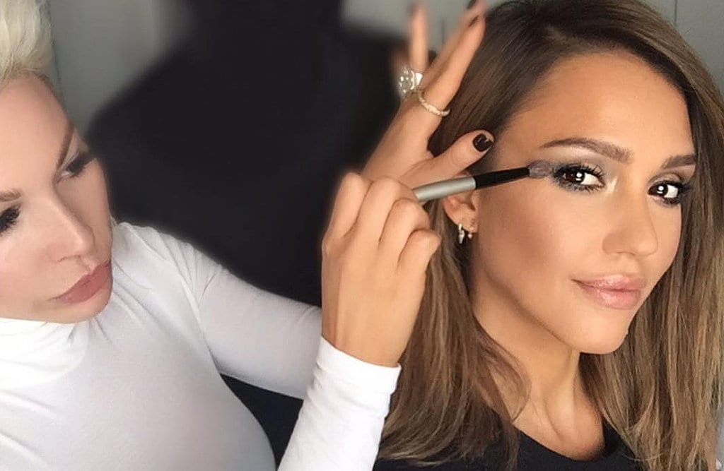 Kim-Kardashian-Makeup-Artist-Works-Jessica-Alba