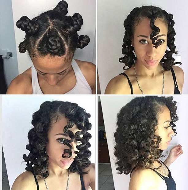 5 techniques sans chaleur pour avoir un Afro bouclé