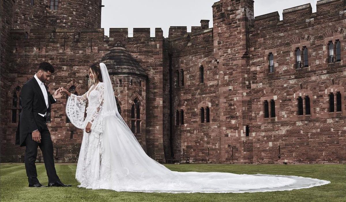 Read more about the article 8 magnifiques photos du mariage de Ciara & Russell Wilson