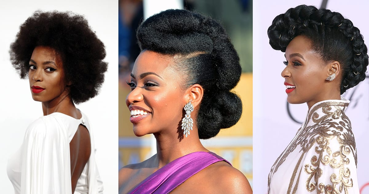 10 coiffures afro que les stars ont adopt archives for Salon de coiffure afro homme