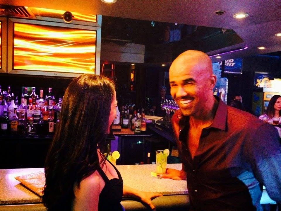 Day#6! Shooting salsa dancing scene shemar moore the bounce back