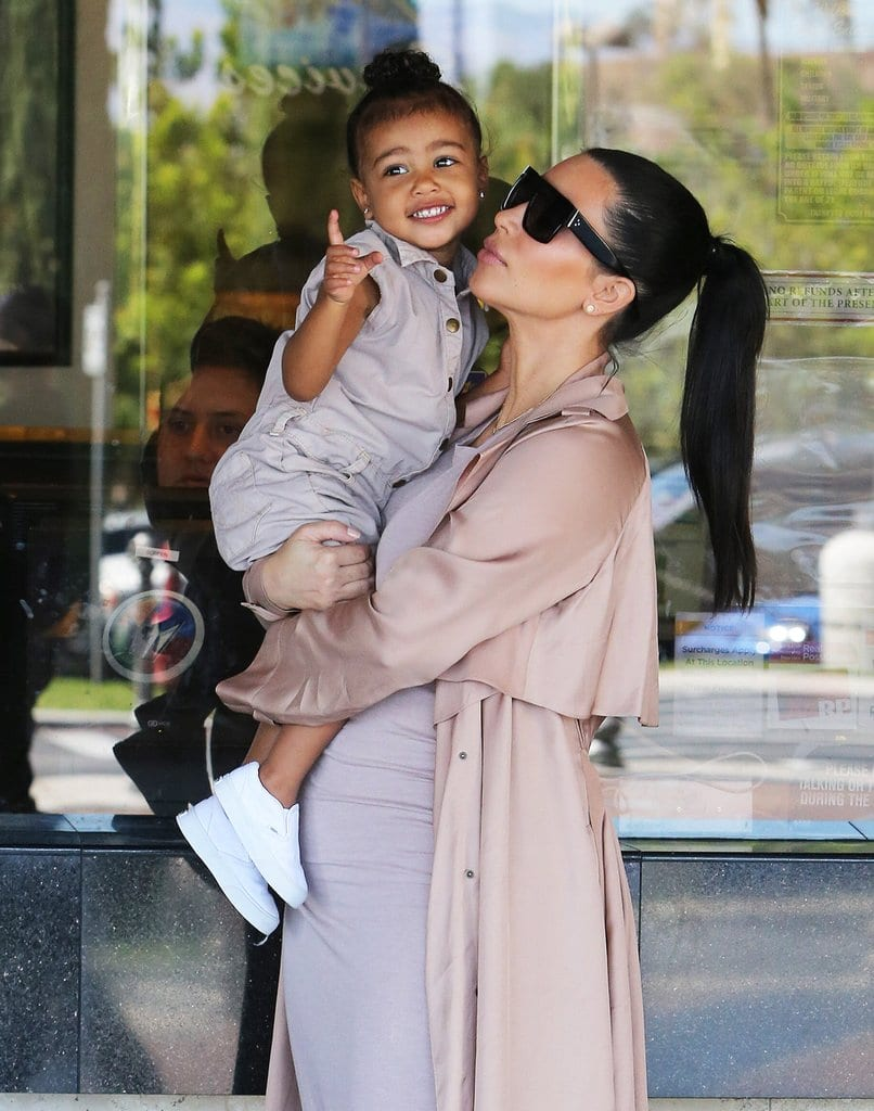 Kim-Kardashian-North-West-Movies-July-2015