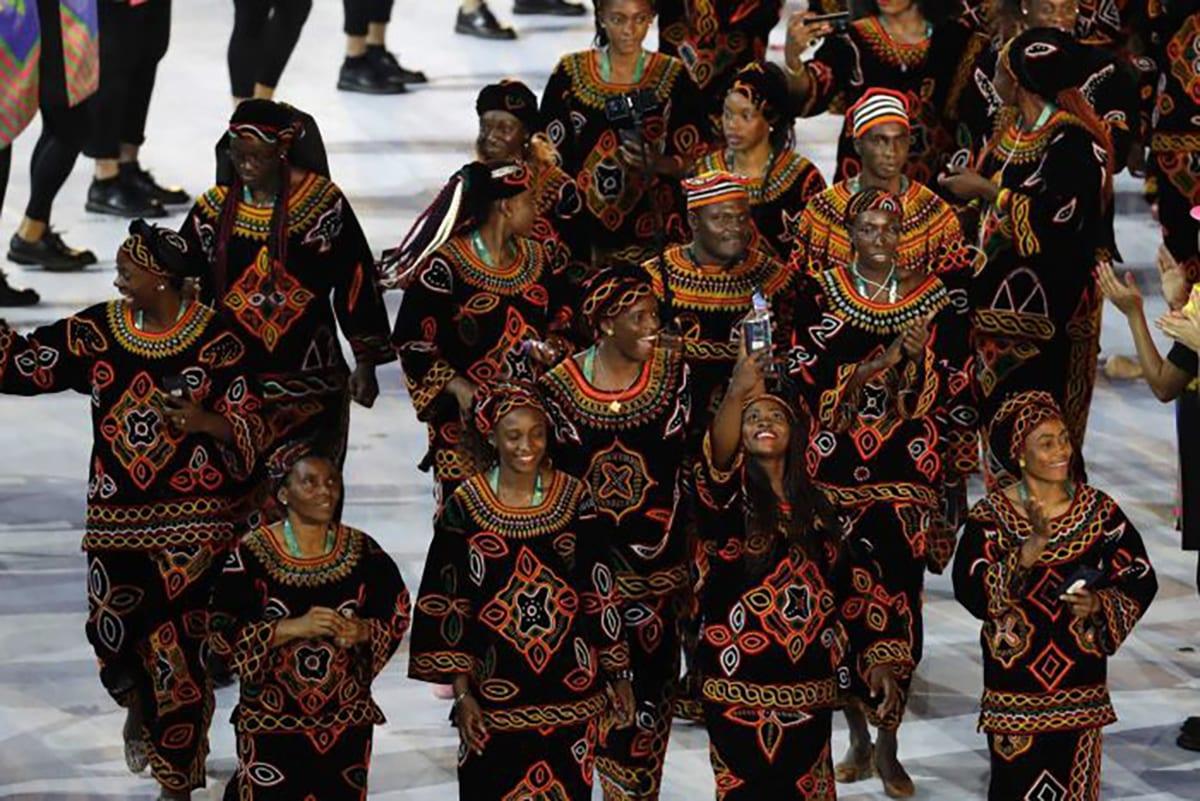Read more about the article RIO 2016 : Les 15 plus beaux uniformes de la cérémonie d'ouverture des Jeux Olympiques