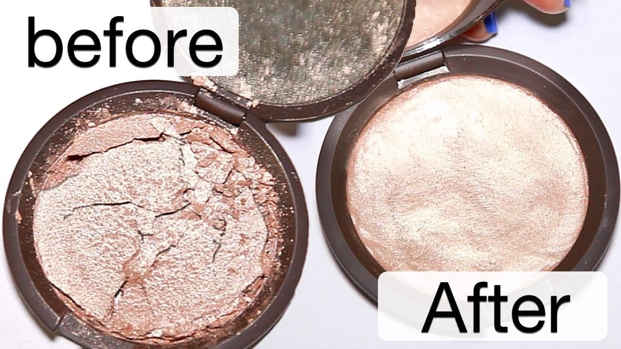 Répare ta poudre cassée en quelques secondes !