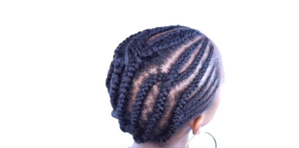 tresses collées crochet braids
