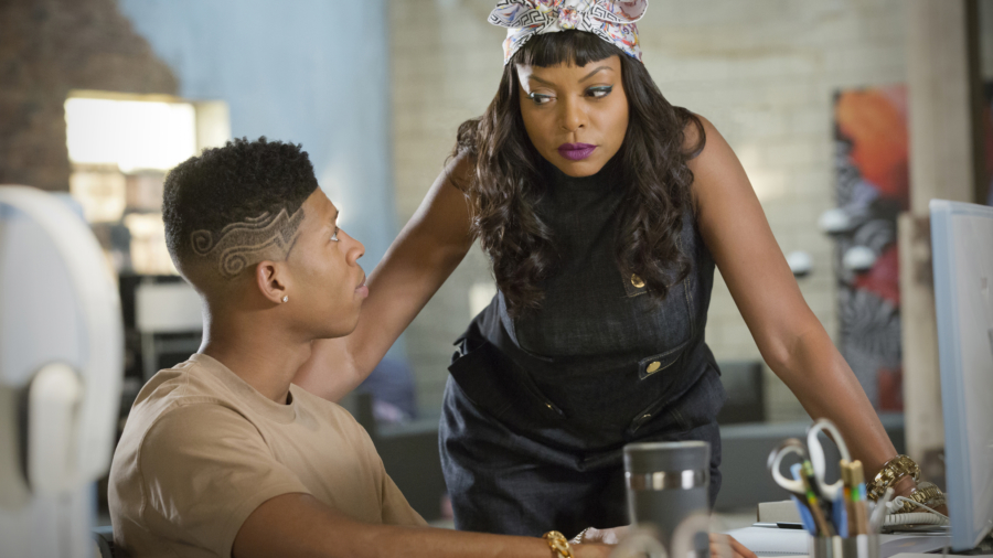 empire-s2-ep4-pic-4-bryshere-gray-as-hakeem-lyon-and-taraji-p-henson-as-cookie-lyon
