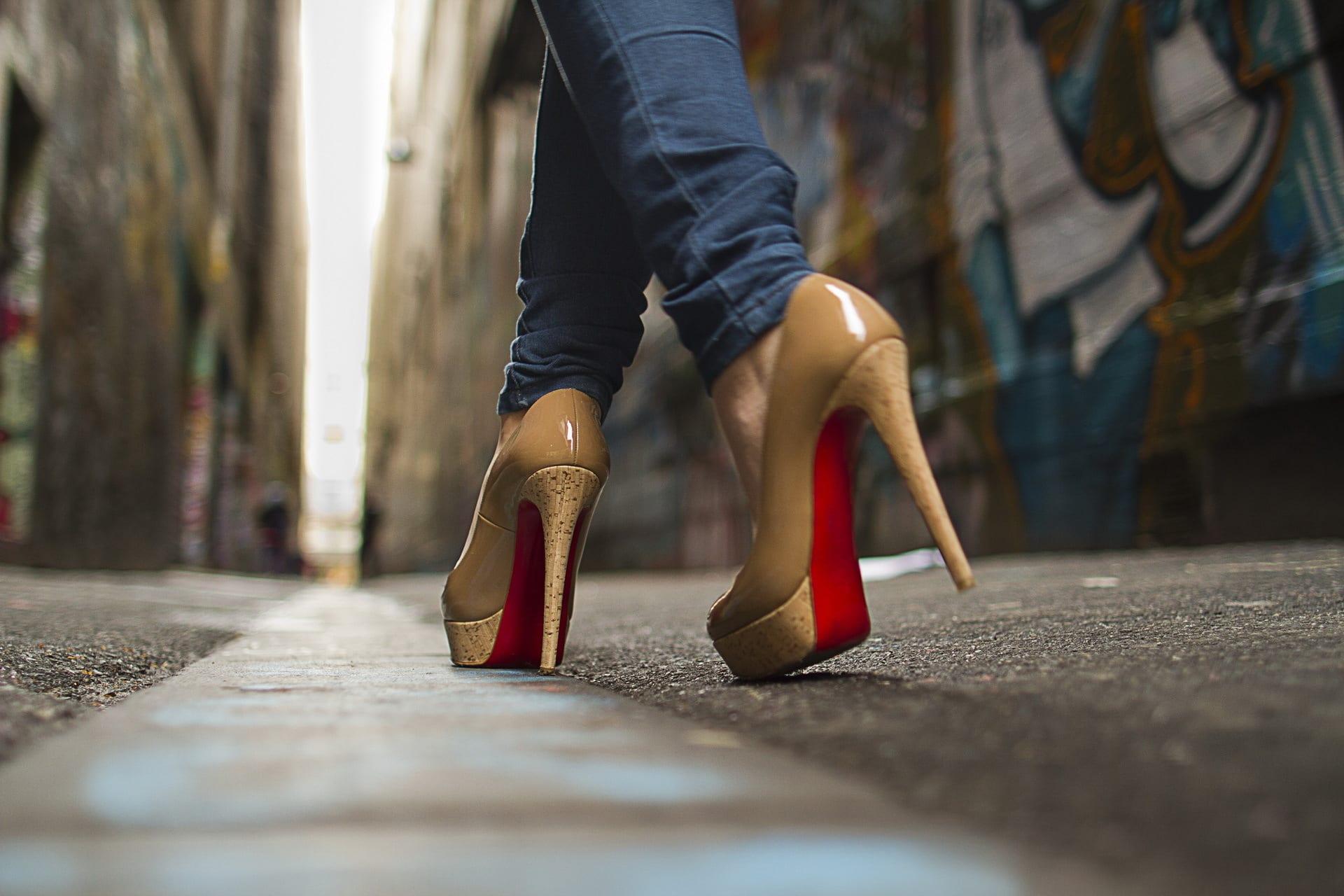 louboutin mal aux pieds