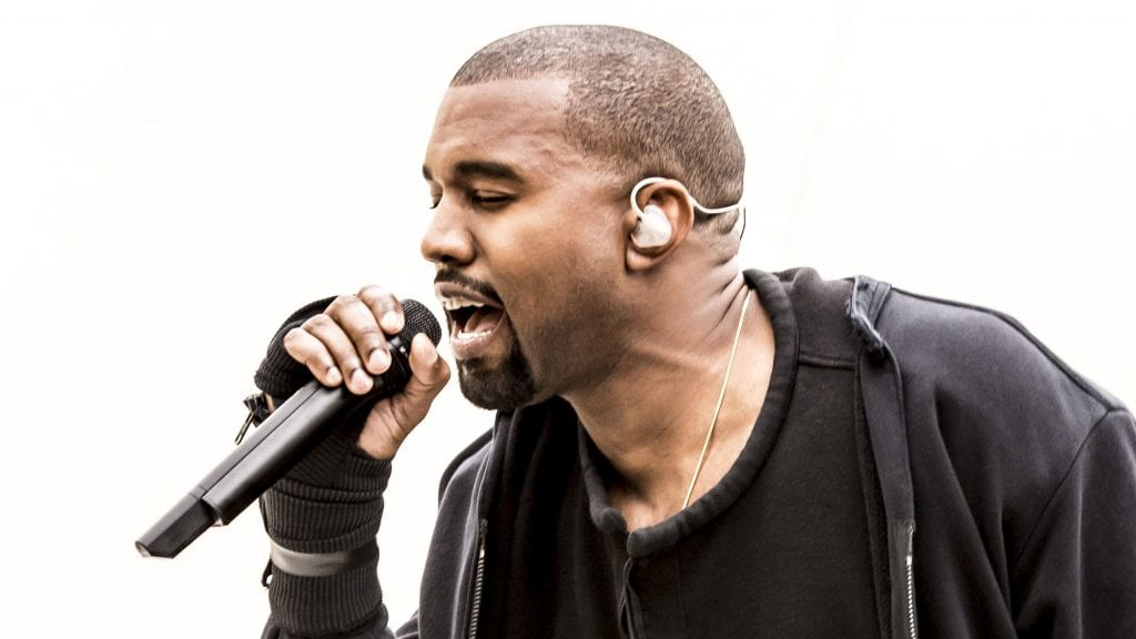 EDITORIAL USE ONLY / NO MERCHANDISING Mandatory Credit: Photo by Brian J Ritchie/Hotsauce/REX/Shutterstock (4453302ce) Kanye West 'The Jonathan Ross Show' TV Programme, London, Britain. - 28 Feb 2015