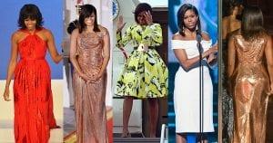 Les 100 plus beaux looks de Michelle Obama pendant ces 8 années de SLAYANCE !
