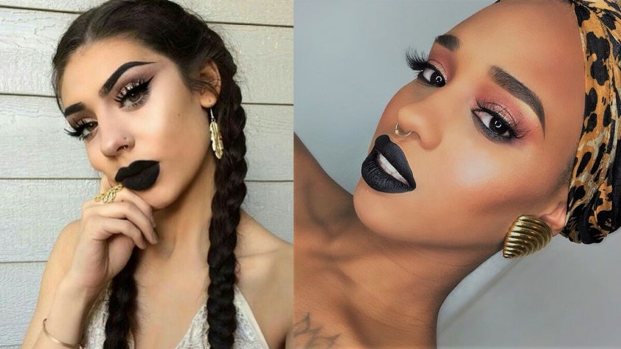 black-lipstick-makeup