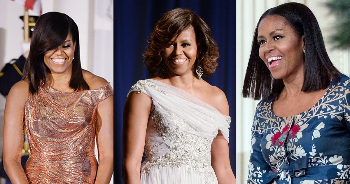 Michelle Obama : Ses plus belles coiffures durant ses 8 années de First Lady !