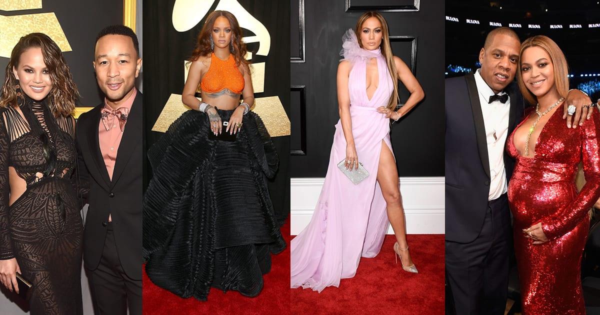 Grammy Awards 2017 : Les 40 plus belles tenues du tapis rouge