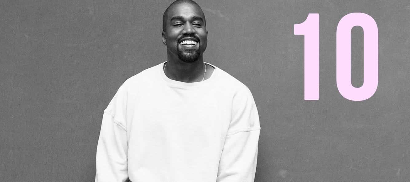 Les 10 règles du succès selon Kanye West