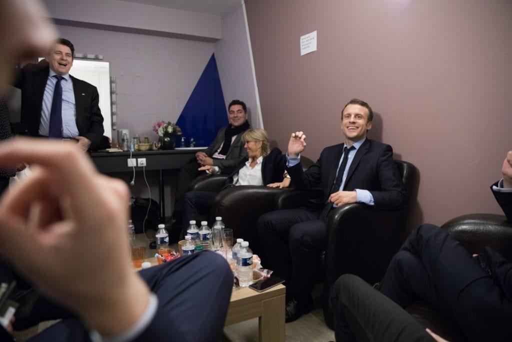 Équipe de campagne Emmanuel Macron
