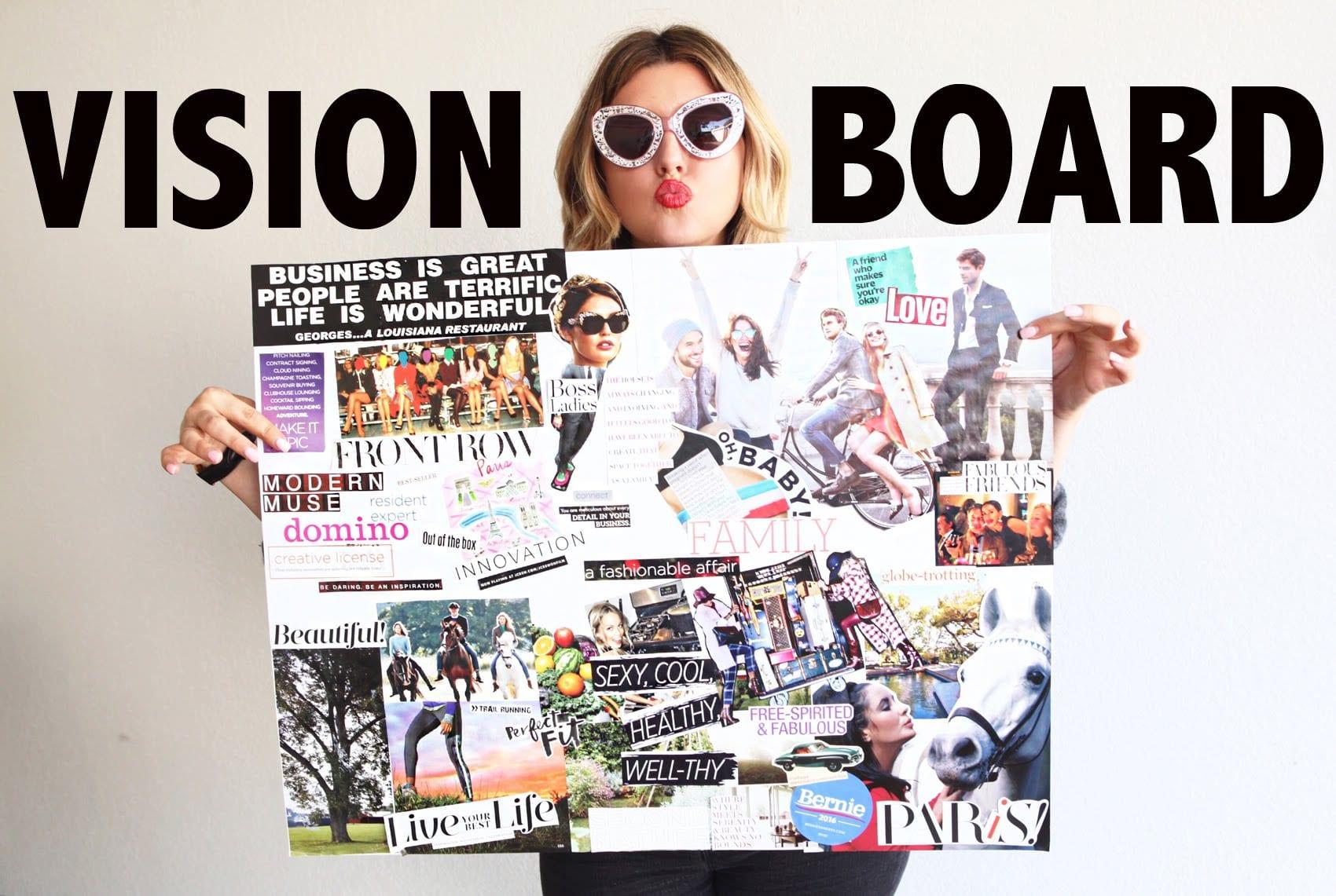 Vision Board : comment faire un tableau de visualisation