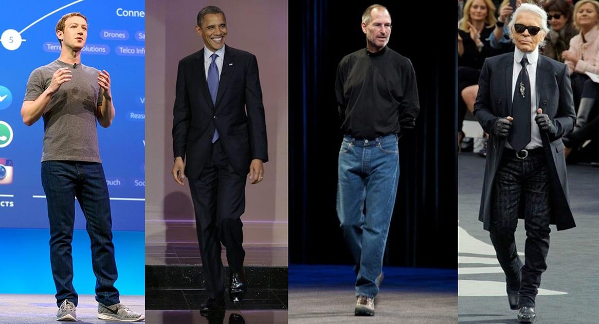 Pourquoi les Hommes puissants s'habillent-ils toujours pareil ?