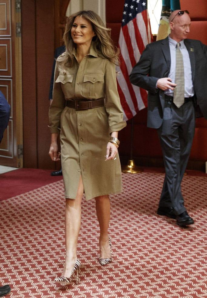 Melania Trump : les plus beaux looks de la First Lady