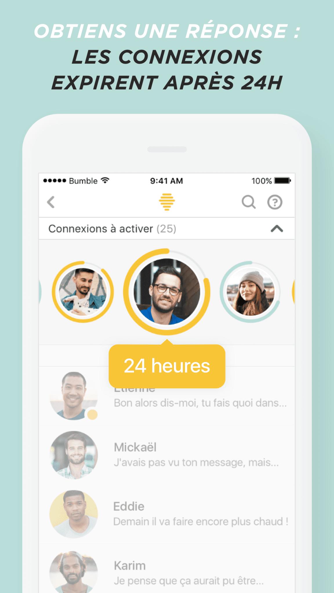 Bumble application de rencontres en ligne