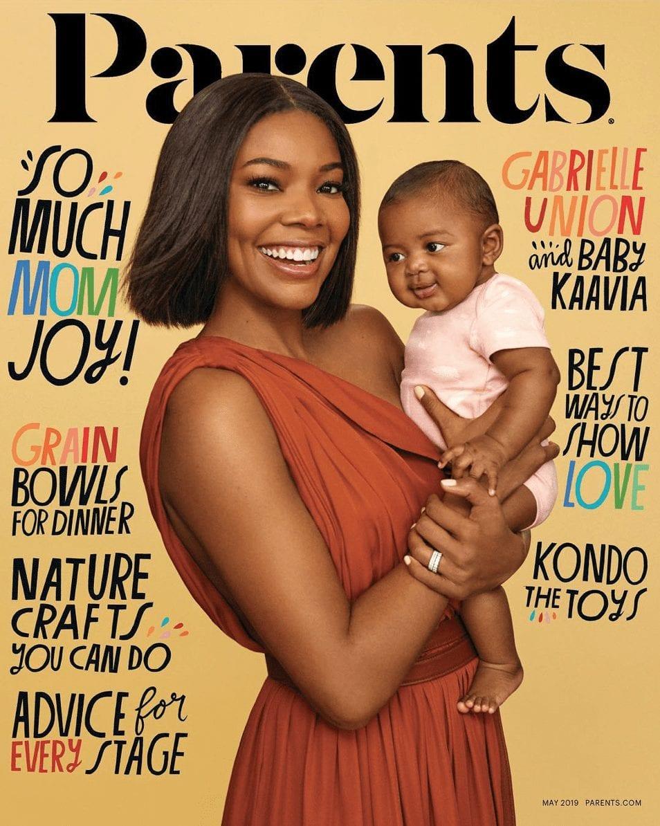 Gabrielle Union Parle de L'Importance d'être une Mère Imparfaite